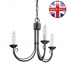 Elstead - Chartwell CH3-BLACK Chandelier