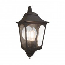 Elstead - Chapel CP7-2-BLACK Half Lantern