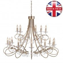 Elstead - Christina CRT18-SIL-GOLD Chandelier