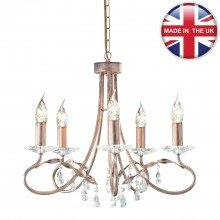 Elstead - Christina CRT5-SILVER-GOLD Chandelier