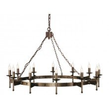 Elstead - Cromwell CW12-OLD-BRZ Chandelier