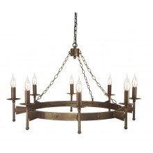Elstead - Cromwell CW8-OLD-BRZ Chandelier