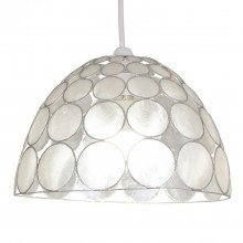 Capiz Jewelled Easy Fit Light Shade