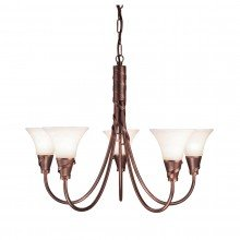 Elstead - Emily EM5-COPPER Chandelier