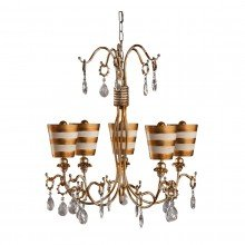 Elstead - Flambeau - Tivoli FB-TIVOLI5-GD Chandelier