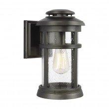 Elstead - Feiss - Newport FE-NEWPORT-M-ANBZ Wall Lantern