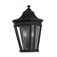 Elstead - Feiss - Cotswold Lane FE-COTSLN7-BK Half Lantern