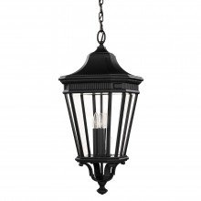 Elstead - Feiss - Cotswold Lane FE-COTSLN8-L-BK Chain Lantern