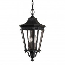 Elstead - Feiss - Cotswold Lane FE-COTSLN8-M-BK Chain Lantern
