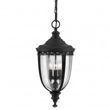 Elstead - Feiss - English Bridle FE-EB8-L-BLK Chain Lantern