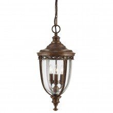 Elstead - Feiss - English Bridle FE-EB8-L-BRB Chain Lantern