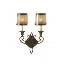 Elstead - Feiss - Justine FE-JUSTINE2-B Wall Light