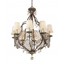 Elstead - Feiss - Marcella FE-MARCELLA8 Chandelier