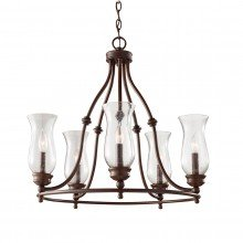 Elstead - Feiss - Pickering Lane FE-PICKERING-LANE5 Chandelier