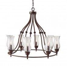 Elstead - Feiss - Pickering Lane FE-PICKERING-LANE8 Chandelier