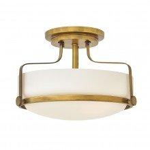 Elstead - Hinkley Lighting - Harper HK-HARPER-SFS-HB Semi-Flush