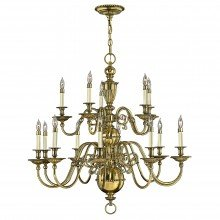 Elstead - Hinkley Lighting - Cambridge HK-CAMBRIDGE15 Chandelier