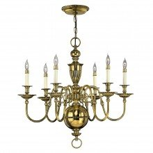 Elstead - Hinkley Lighting - Cambridge HK-CAMBRIDGE6 Chandelier