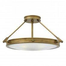 Elstead - Hinkley Lighting - Collier HK-COLLIER-SF-M Semi-Flush