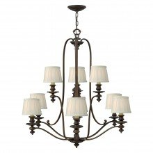 Elstead - Hinkley Lighting - Dunhill HK-DUNHILL9 Chandelier