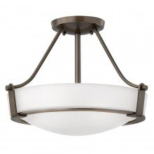 Elstead - Hinkley Lighting - Hathaway HK-HATHAWAY-SFSB Semi-Flush