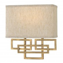 Elstead - Hinkley Lighting - Lanza HK-LANZA2-BR Wall Light
