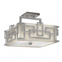 Elstead - Hinkley Lighting - Lanza HK-LANZA-SF-AN Semi-Flush