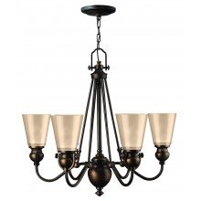 Elstead - Hinkley Lighting - Mayflower HK-MAYFLOWER6 Chandelier