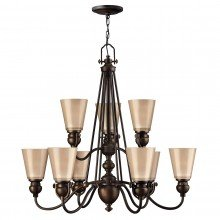 Elstead - Hinkley Lighting - Mayflower HK-MAYFLOWER9 Chandelier