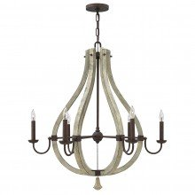 Elstead - Hinkley Lighting - Middlefield HK-MIDDLEFIELD6 Chandelier