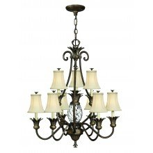 Elstead - Hinkley Lighting - Plantation HK-PLANT10-PZ Chandelier