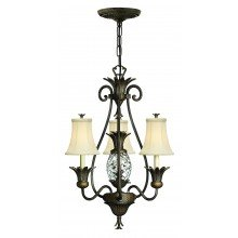 Elstead - Hinkley Lighting - Plantation HK-PLANT3-PZ Chandelier