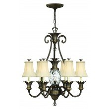 Elstead - Hinkley Lighting - Plantation HK-PLANT7-PZ Chandelier