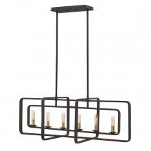 Elstead - Hinkley Lighting - Quentin HK-QUENTIN-6ISLE Chandelier