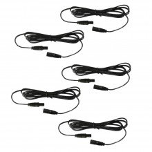Pack of 5 x 1m Head Extension Leads - for use with White & Blue Decking Kits