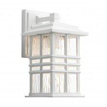 Elstead - Kichler - Beacon Square KL-BEACON-SQUARE-S-WHT Wall Lantern