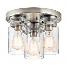 Elstead - Kichler - Brinley KL-BRINLEY-F-NI Flush Light