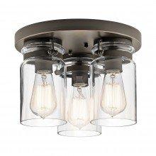 Elstead - Kichler - Brinley KL-BRINLEY-F-OZ Flush Light