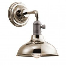 Elstead - Kichler - Cobson KL-COBSON1-PN Wall Light