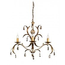 Elstead - Lily LL3-ANT-BRZ Chandelier