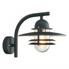 Elstead - Norlys - Oslo OS2-BLACK-C Wall Light
