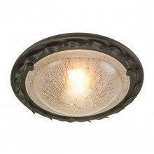 Elstead - Olivia OV-F-BLK-GOLD Flush Light