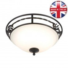 Elstead - Pembroke PB-F-A-BLACK Flush Light