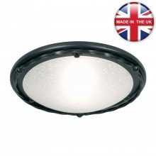 Elstead - Pembroke PB-F-B-BLACK Flush Light
