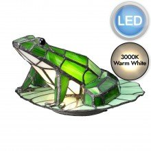 Elstead - Quoizel - Tiffany Animal Lamps QZ-FROG-TL Table Lamp