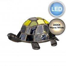 Elstead - Quoizel - Tiffany Animal Lamps QZ-TORTOISE-TL Table Lamp