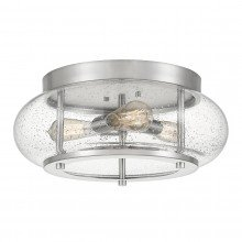 Elstead - Quoizel - Trilogy QZ-TRILOGY-FM-BN Flush Light