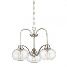 Elstead - Quoizel - Trilogy QZ-TRILOGY3-BN Chandelier