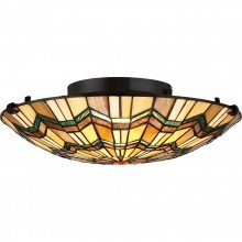 Elstead - Quoizel - Alcott QZ-ALCOTT-F Flush Light