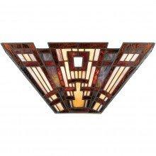 Elstead - Quoizel - Classic Craftsman QZ-CLASSIC-CRAFT-WU Wall Light